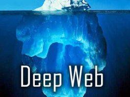 Imagem de um iceberg para representar o quanto da Web está fora do alcance dos nossos olhos.