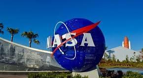 Monumento na entrada da NASA