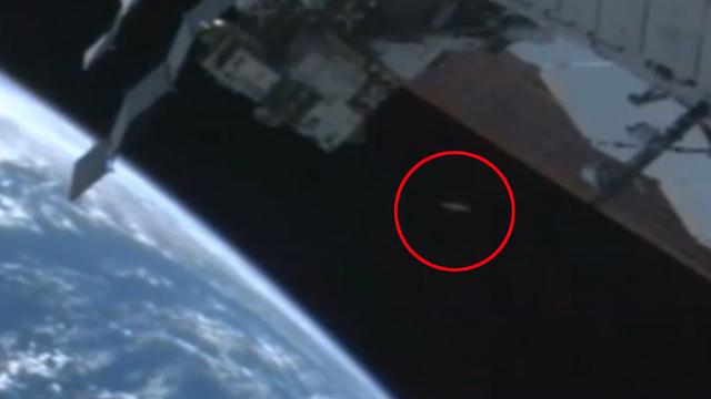 objeto não identificado aparece em transmissão da NASA