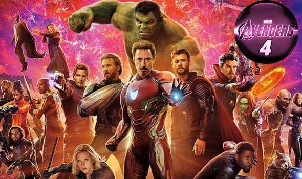 Imagem dos heróis presentes em Vingadores
